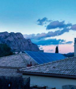Finalización de las obras de una instalación fotovoltaica en Collbató