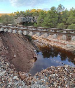 Emergency drainage study for ADIF
