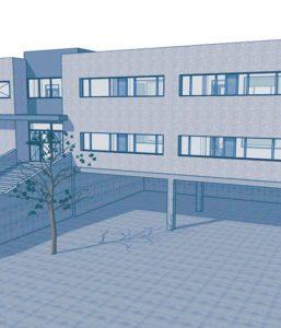 Projecte d'instal·lacions Col·legi, Fase 3