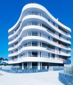 Complexo residencial em biarritz
